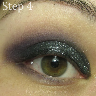new year's eve makeup tutorial with mac indian ink mac carbon and mac phloof