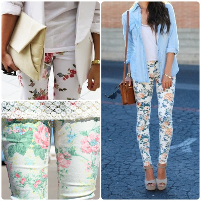 çiçekli pantolonlar nasıl giyilir