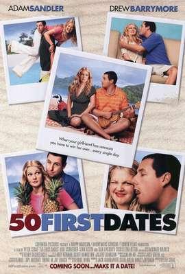 50 first dates (Como si fuera la primera vez) (50 primeras citas) (2004) Español Latino
