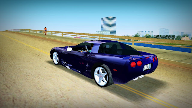 Chevrolet Corvette Coupe 2003 GTA Vice City