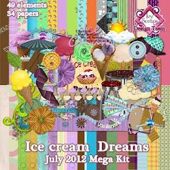 July Mega 2012- Icecream Dreams