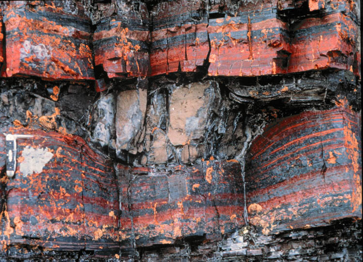 "Banded Iron Formation "" BIF"" 