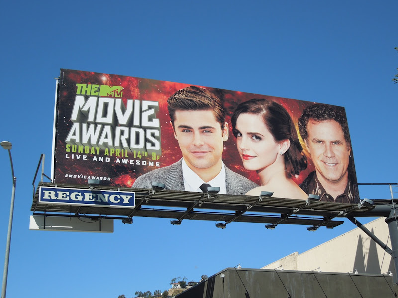 MTV Movie Awards billboard