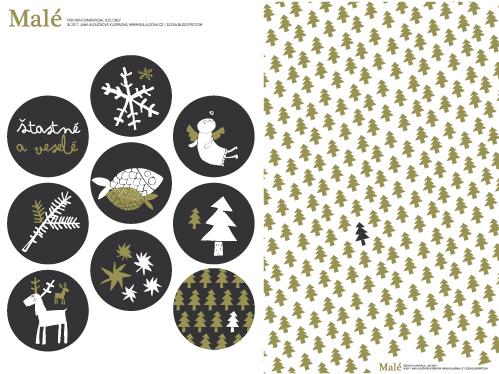 Papel de regalo navideño para imprimir - Actividades para niños ...