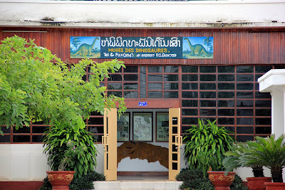 Museum Dinosaurier Savannakhet