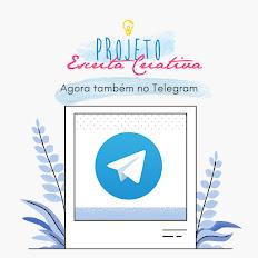 Projeto Escrita Criativa no Telegram