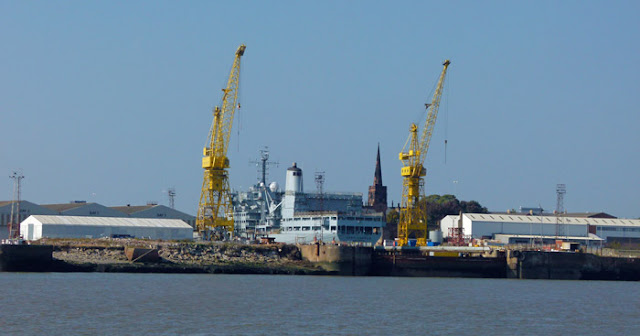 Shipbuilding, Merseyside, Fort Rosalie, Cammell Laird, Birkenhead, Falklands, Yugoslav, Afghanistan