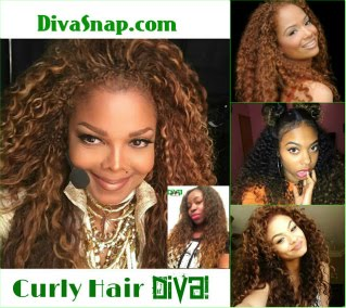 Trendy Hair Diva: Janet Jackson, Diva Snap & More styled their Oh So Nasty Curly!