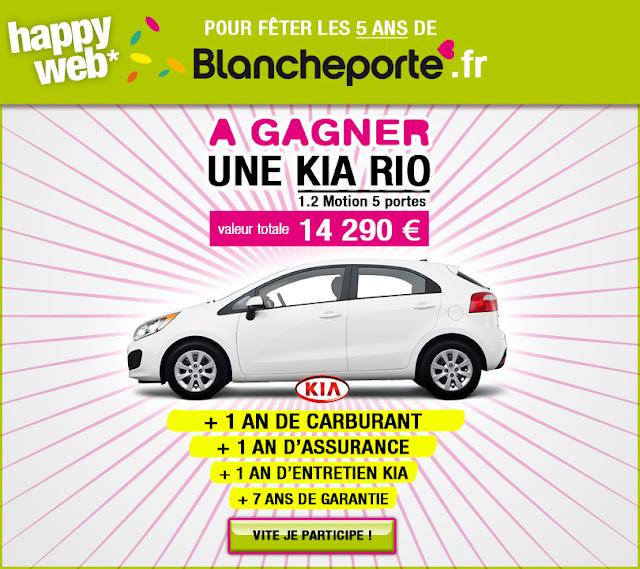 "1 voiture Kia ""Rio"" à gagner"