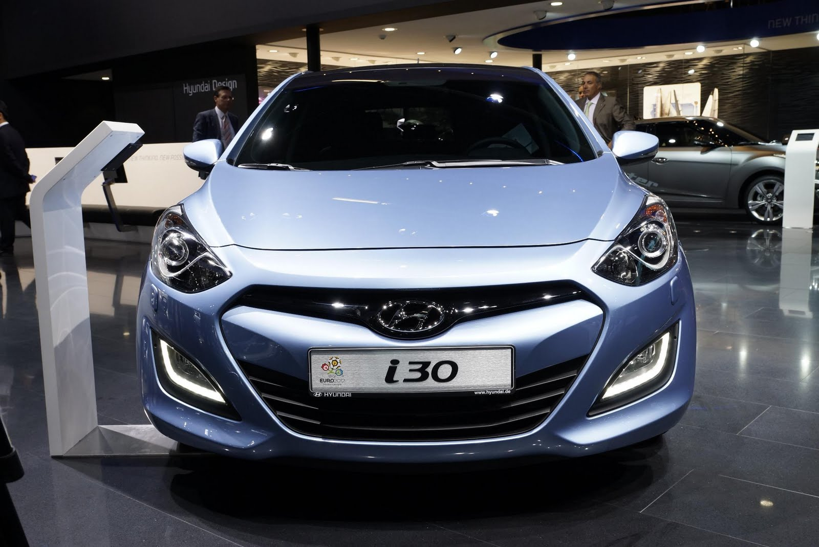 new i30 hyundai appeared on the stand at frankfurt hyundai i30 2012 garage car. Black Bedroom Furniture Sets. Home Design Ideas