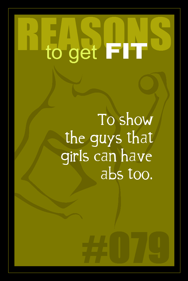 365 Reasons to Get Fit #079