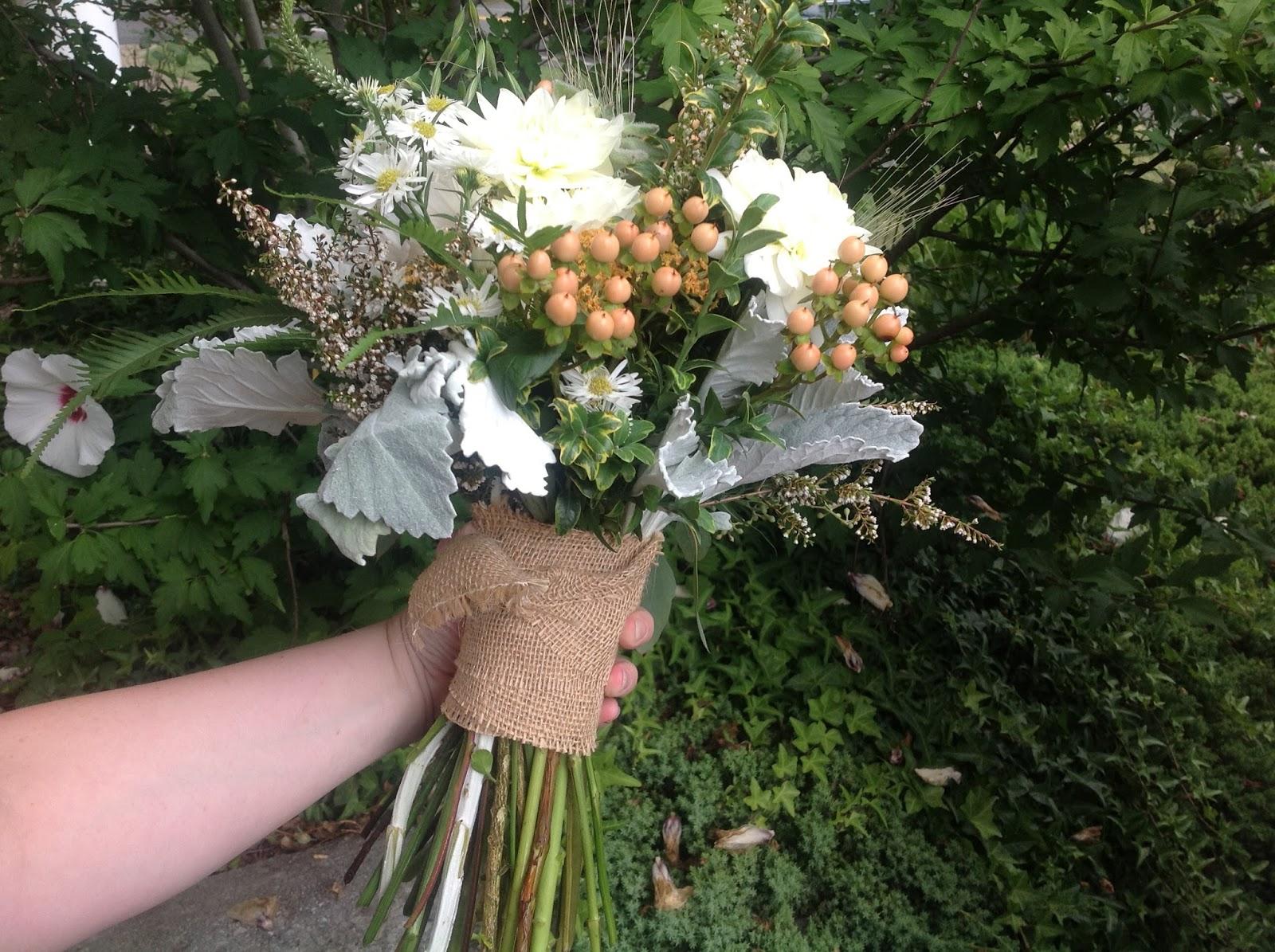Beautiful Bouquets!  Backyard Garden Florist