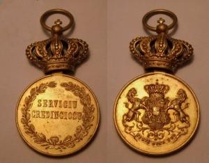 Medalia de aur
