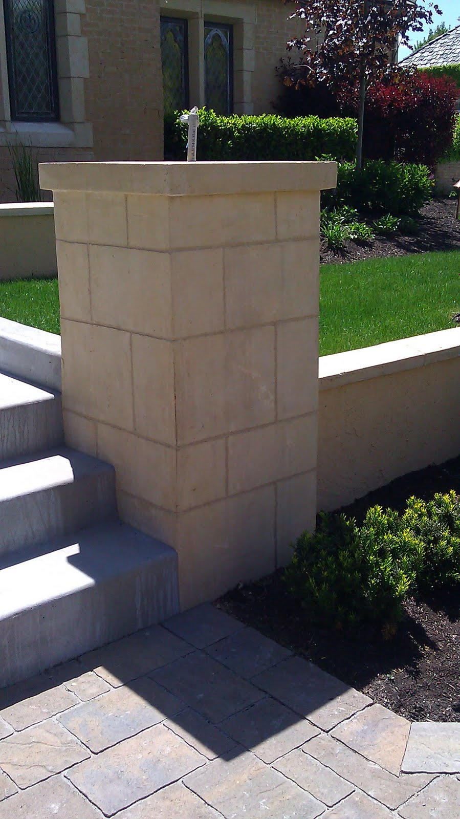 Stucco Tech Platinum Landscape Retaining Wall
