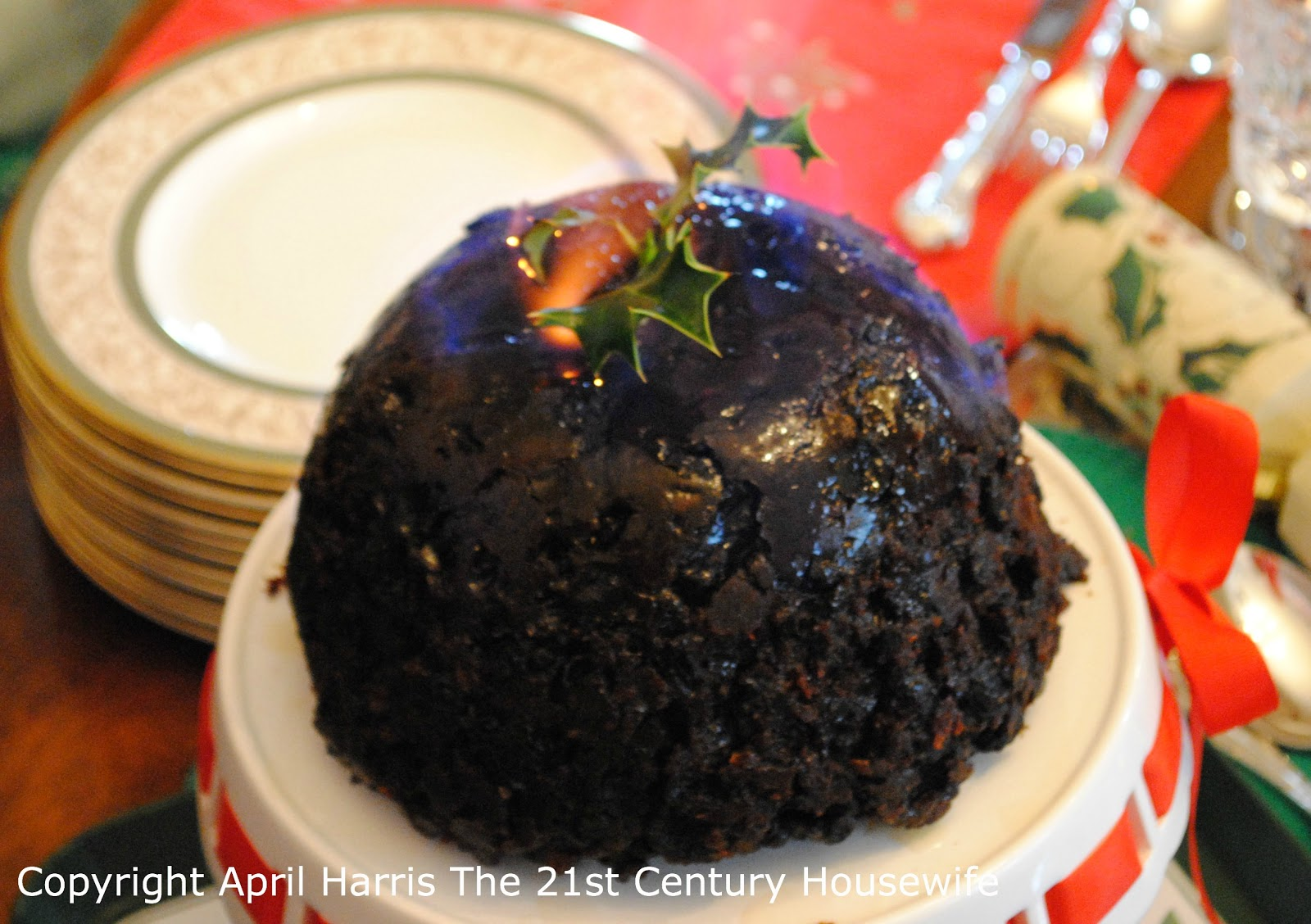... Housewife's Kitchen: A Victorian Family Recipe for Christmas Pudding