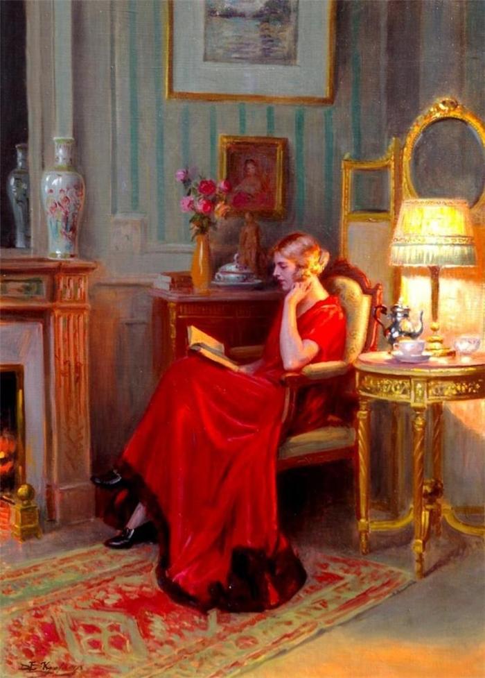 Delphin Enjolras 1857-1945 | French academic painter