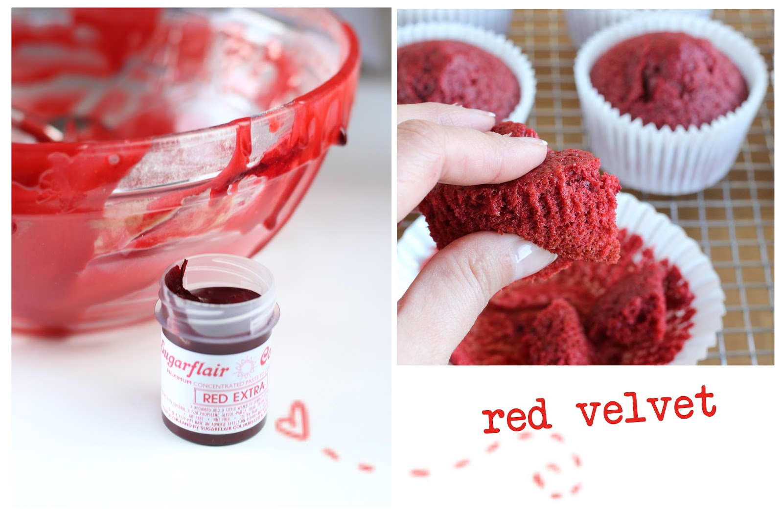 Red Velvet Donuts With Cake Mix