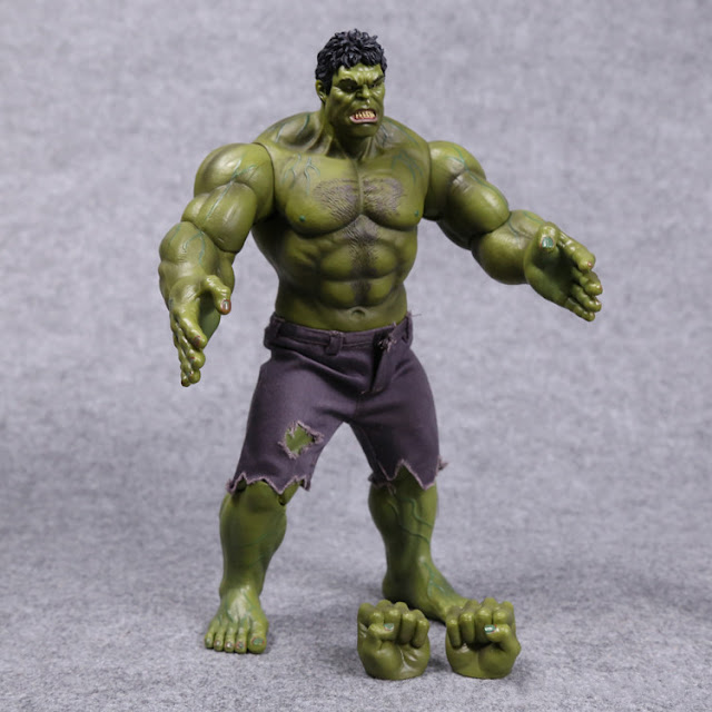 Jual Action Figure Hulk Mini Hottoys