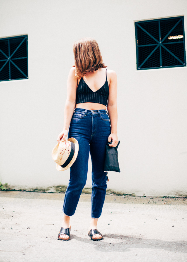 Canadian Personal Style and Fashion blogger wearing H&M and American Apparel