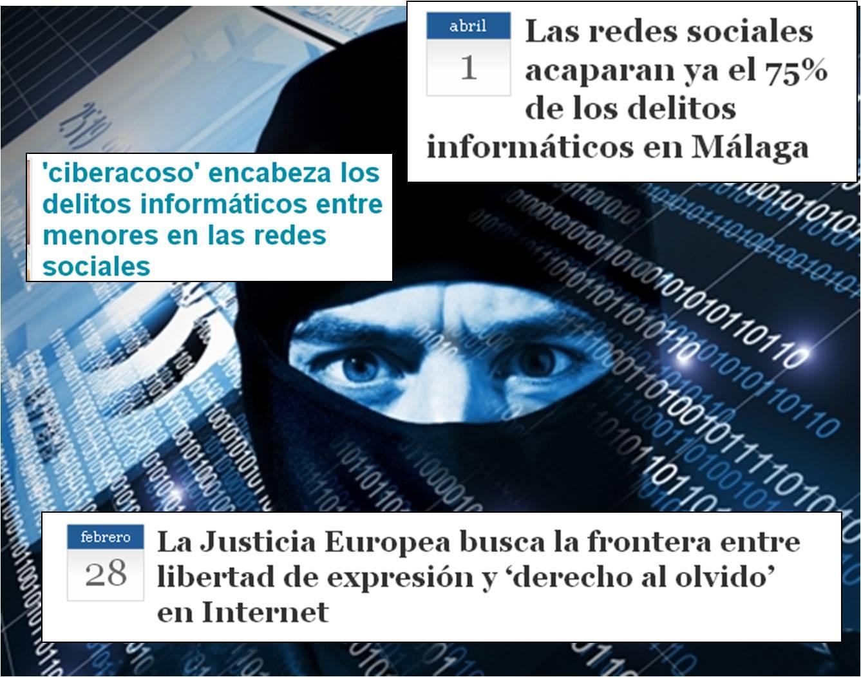Delitos contra el honor en Internet. Derecho al olvido. Ciberdelitos. Esmeralda Diaz-Aroca