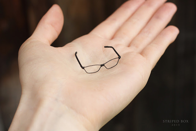 1/6 scale glasses for doll