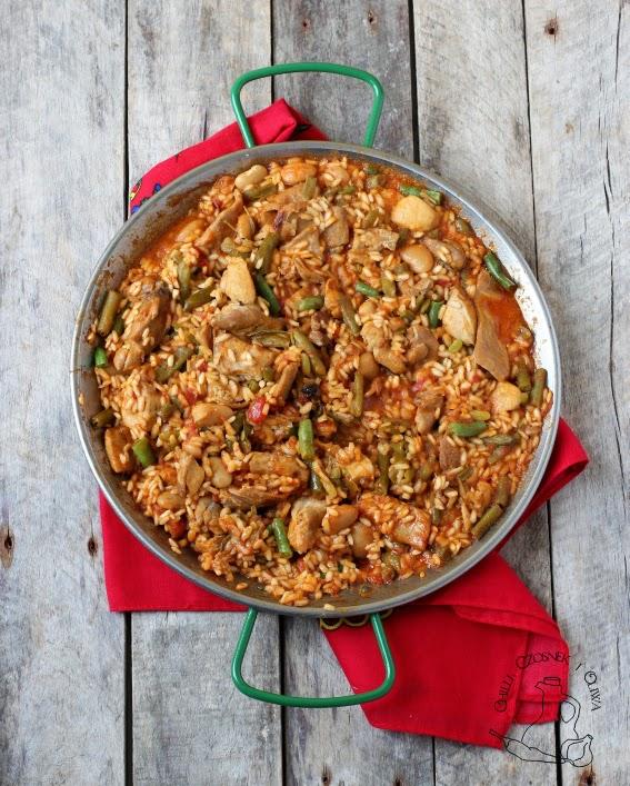 paella hiszpanska