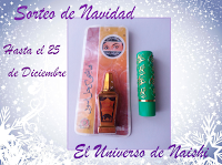 "Sorteo en el blog ""El Universo de Naishi"""
