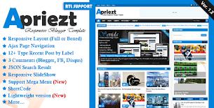 MKRflat - Responsive Magazine/News Blogger Theme - 7