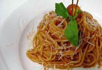 Napoliten spaghetti
