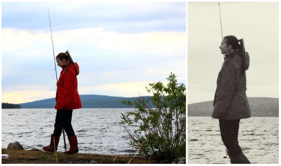 Заполярье, Мончегорск, северная природа, рыбалка, блог