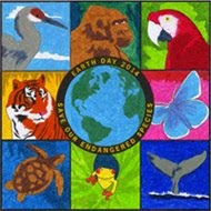 Earth Day Endangered Mural $5
