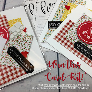 Win this Month's Card Kit