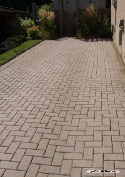 How to make a weed free brick driveway that stays that way after weeding driveway before adding polymeric sand solutioingenieria Image collections