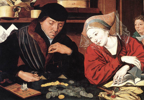Le banquier et sa femme, Marinus van Reymerwaele