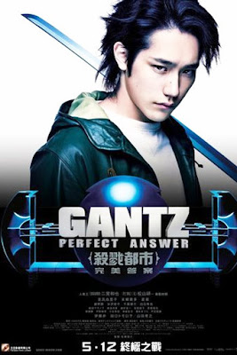Watch Gantz: Perfect Answer 2011 BRRip Japanese Movie Online | Gantz: Perfect Answer 2011 Japanese Movie Poster