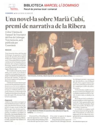 Notícia a Biblioteca Marcel·lí Domingo de Tortosa