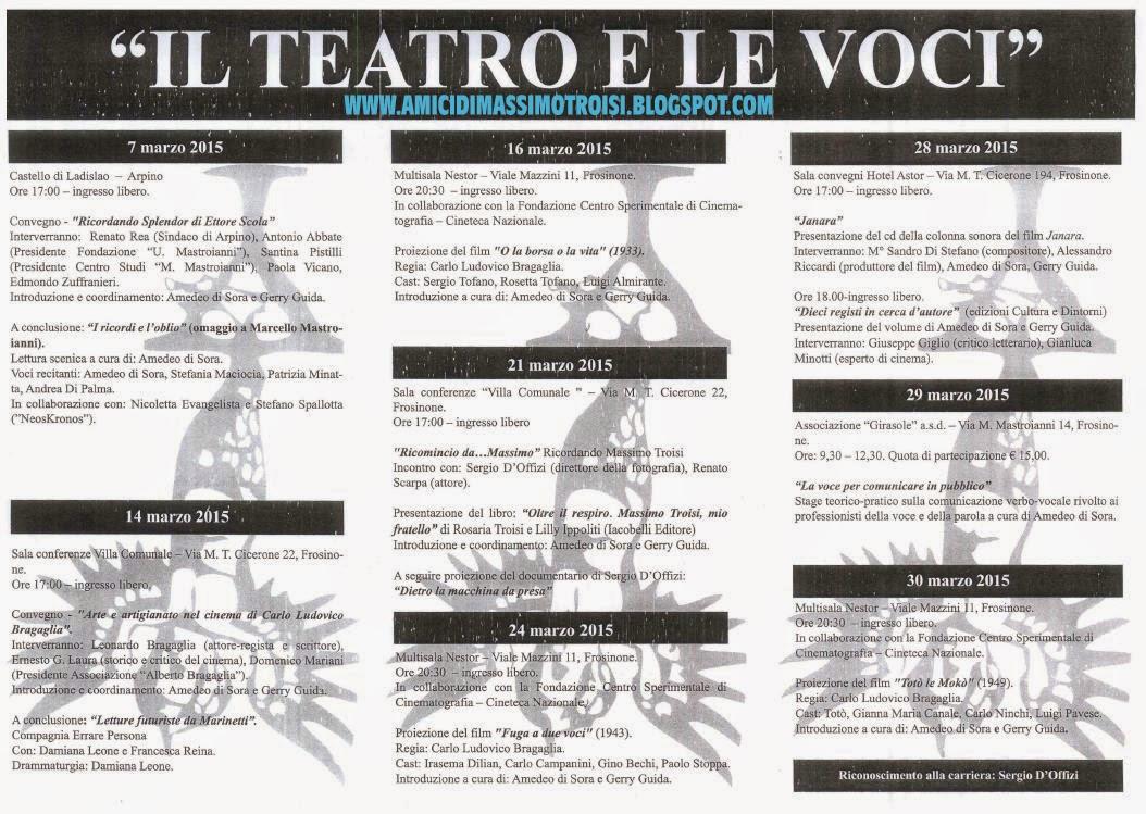 teatro dell'appeso ciociaria il teatro e le voci