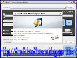 Xilisoft iPhone Ringtone Maker v2.0.6