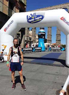Atletismo Aranjuez en la Madrid - Segovia