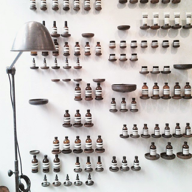 Paris / Aesop / Photos Atelier rue verte /