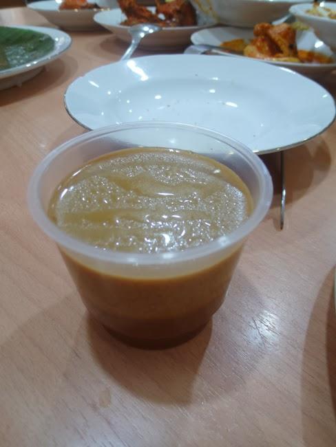 """Flan de """"gula jawa"""" (azucar de palma)"""