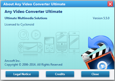 Download Any Video Converter (AVC) Ultimate 5.5.0 Full Keygen