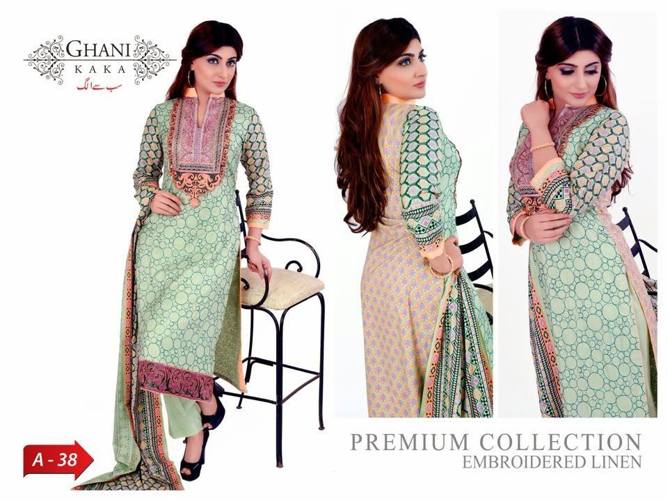 Ghani KaKa Winter Dresses Collection 2014-2015