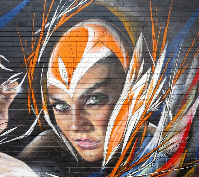 Street Art Collaboration By Adnate And Shida On The Streets Of Woolongong in Australia. 4