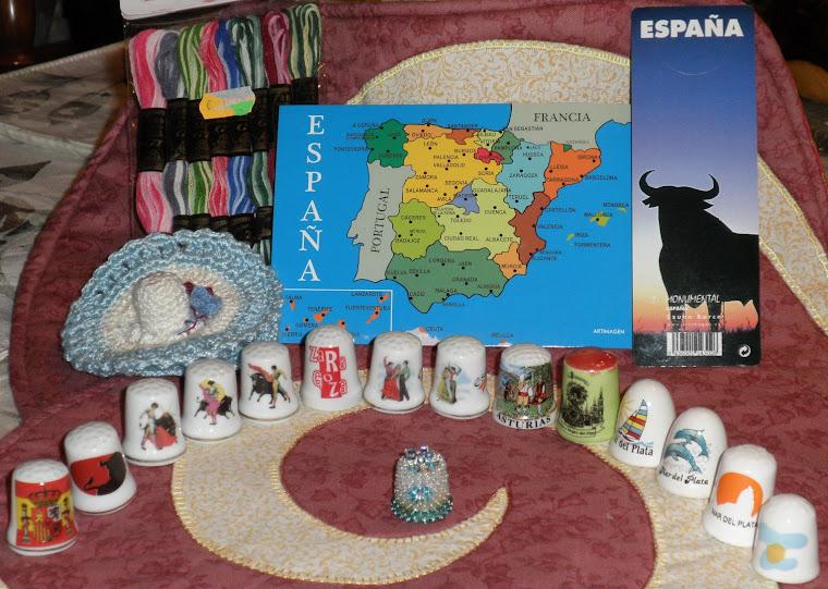 INTERCAMBIO DE DEDALES CON MARIA DESDE ESPANA