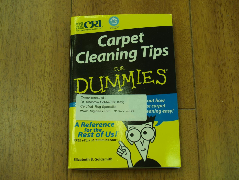 Rug Master Carpet Care Tips