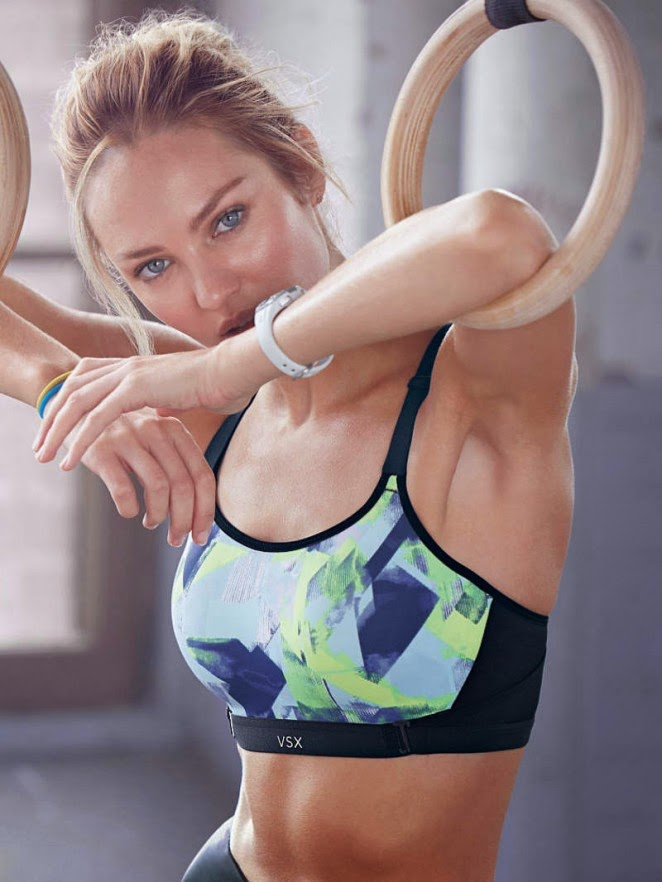 Candice Swanepoel stars in the Victoria's Secret Lingerie and Sports Lookbook January 2015