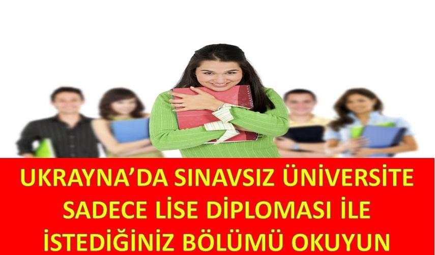 Ukrayna da sınavsız üniversite odessa da sınavsız üniversite