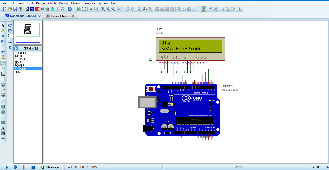 Download library proteus arduino uno
