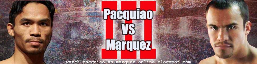 Manny Pacquiao vs Juan Marquez 3